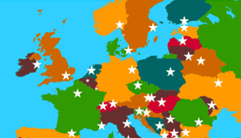 capitals of europe educational game