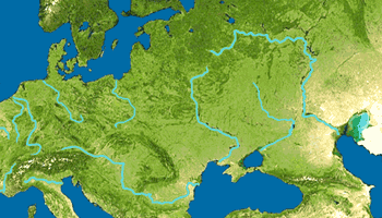 rivers of europe educational game